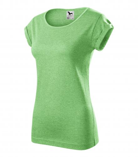 415a97a9899 Dámské triko Fusion - zelený melír - M empty