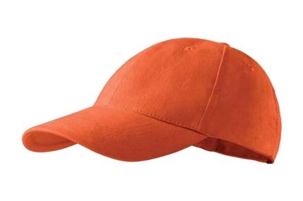 3da2612f5a4 Šestipanelová kšiltovka 6P - oranžová