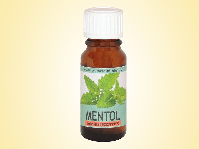 Vonný olej do aromalamp - Mentol - 10ml