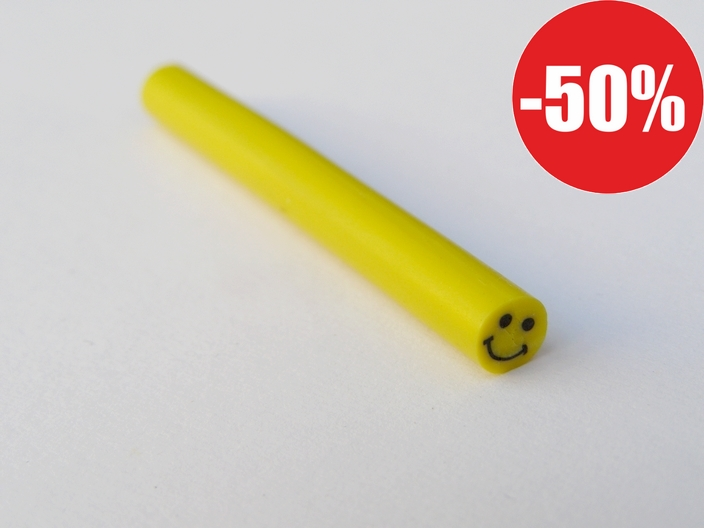 Fimo tyčinka CANE - smiley