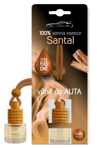 Vůně do auta 5 ml - vůně santal
