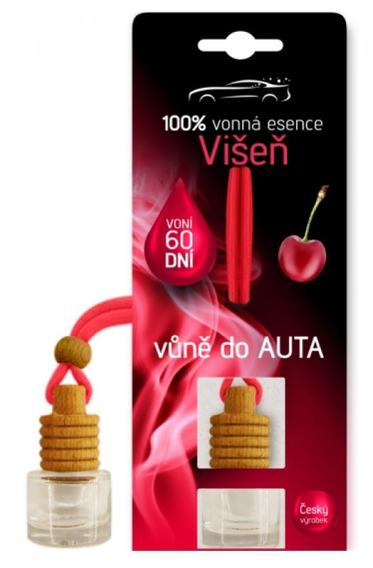 Vůně do auta 5 ml - vůně višeň